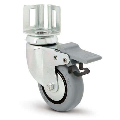 rueda con pletina angular