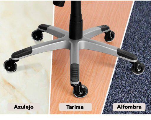 ruedas para silla de oficina SLYPNOS baratas