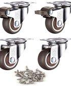 Ruedas Industriales GBL Incluyen tornillos de montaje