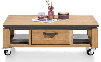 Mueble de madera con unas ruedas GBL 75 mm